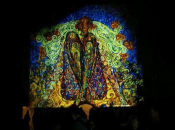 Fényfestés - Night Projection - Feszt!Eger 2014 - Madonna