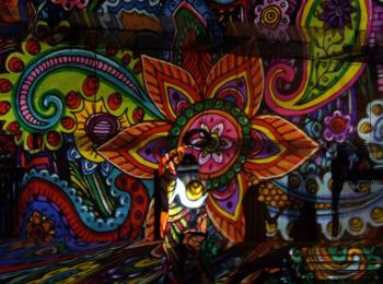 Fényfestés - Night Projection - Családi Nap Szeged