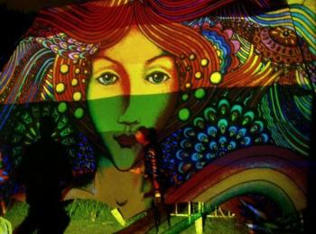 Fényfestés - Night Projection - Y-produkció Tárnok katlan party