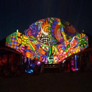 Fényfestés Ozora Fesztivál - ott vagyunk minden jelentős hazai fesztiválon.
